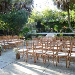 Courtyard Key West Wedding Image